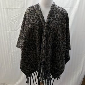 Cheetah print shawl/wrap